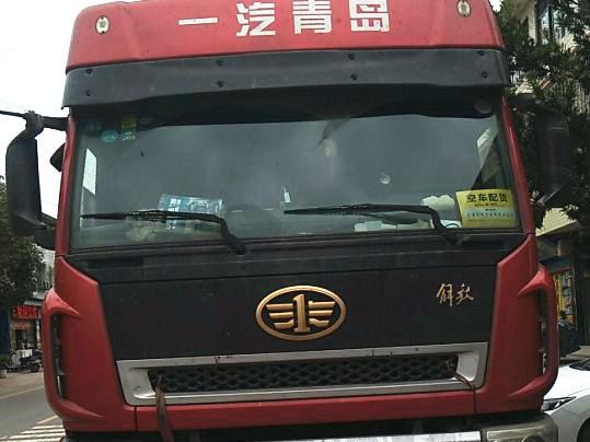 一汽解放J6 载货车  290匹 2013年12月 8x4