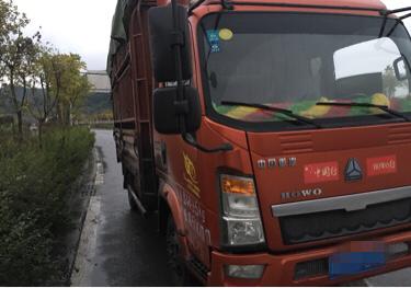 中国重汽悍将 载货车  109匹 2014年10月 4x2