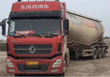 东风天龙 散装物料车  420匹 2015年06月 6x4