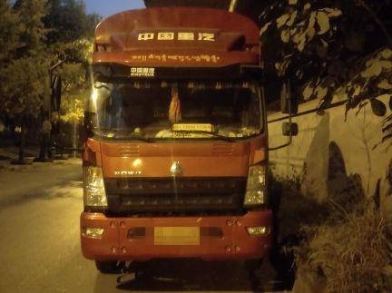 中国重汽HOWO 载货车  170匹 2017年07月 4x2