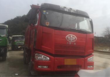 一汽解放J6P重卡 自卸车  420匹 2018年06月 6x4