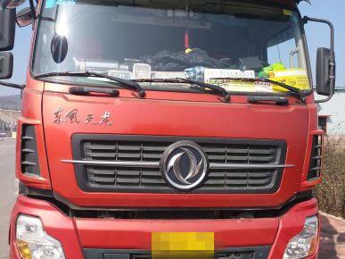 东风天龙 牵引车  420匹 2014年06月 6x4