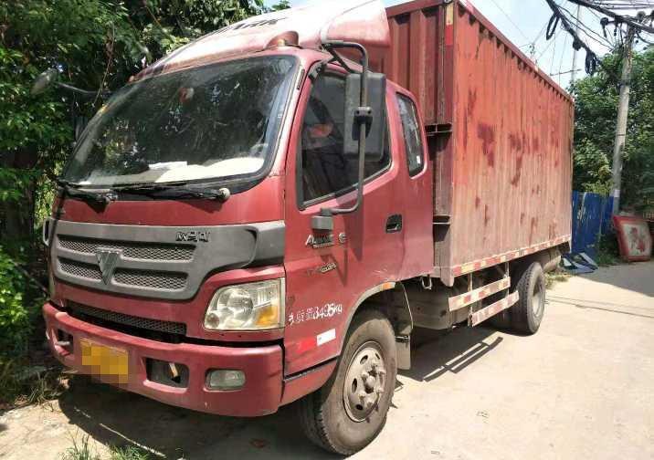 福田欧曼其他车系 载货车  160匹 2014年07月 4x2