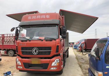 东风天龙 载货车  245匹 2017年11月 6x2