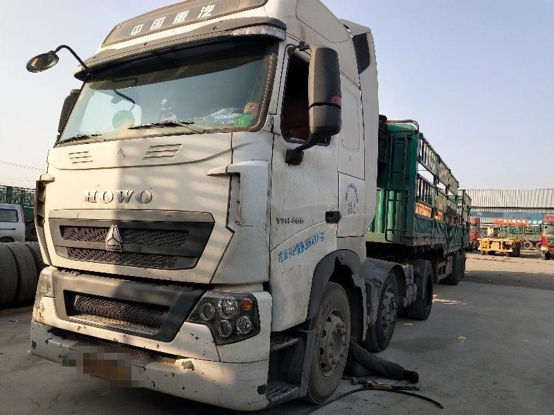 中国重汽HOWO 牵引车  470匹 2017年10月 6x2