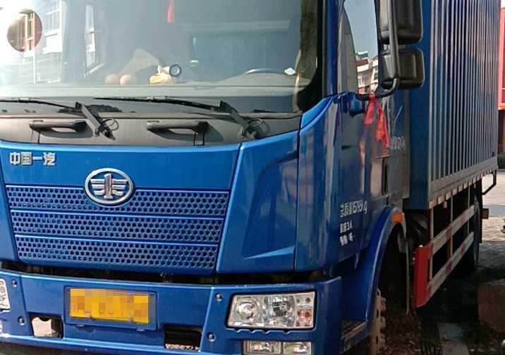 一汽解放J6L中卡 質惠版 載貨車  180匹 2016年05月 4x2
