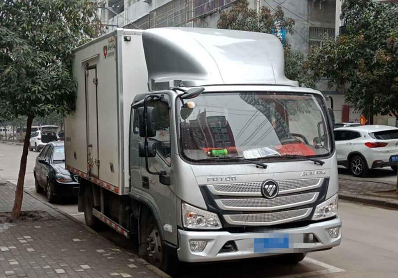 福田歐曼其他車系 冷藏車  136匹 2018年02月 4x2