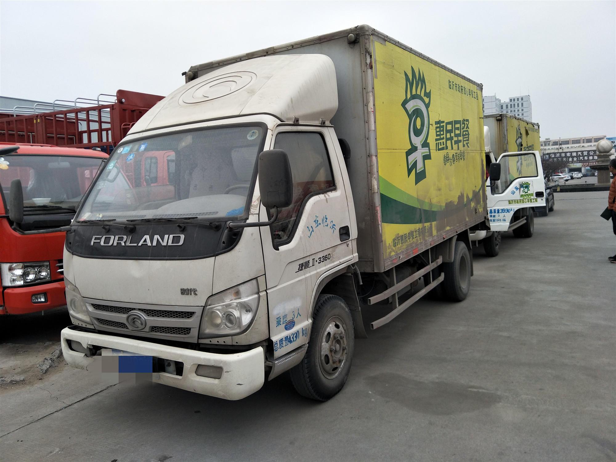 北汽福田其他车系 载货车  92匹 2012年05月 4x2