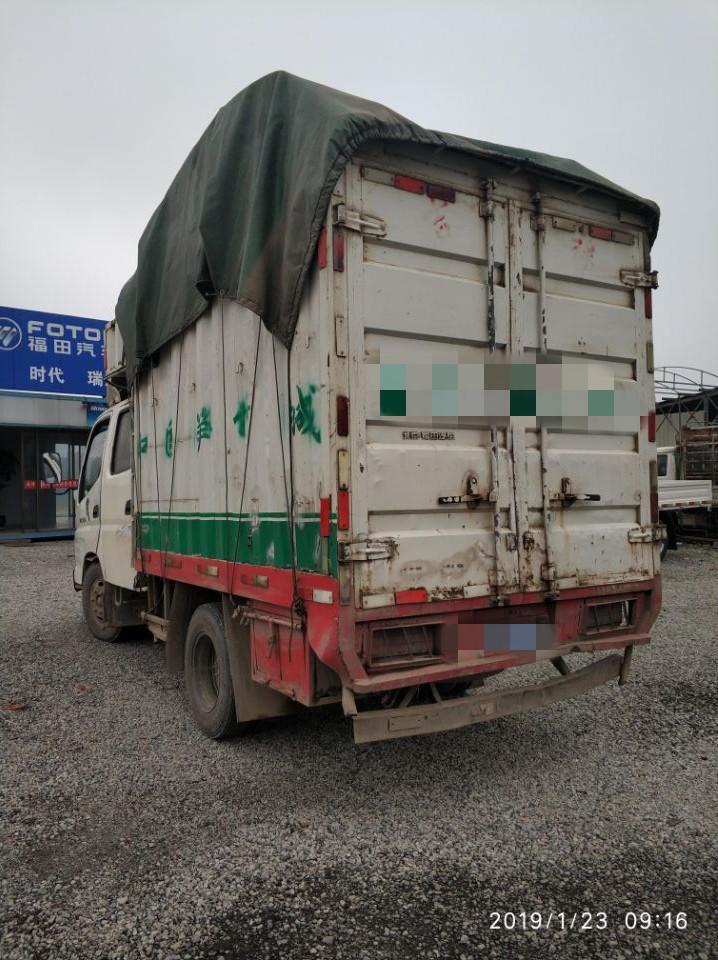 福田奥铃奥铃捷运 载货车  71匹 2011年07月 4x2