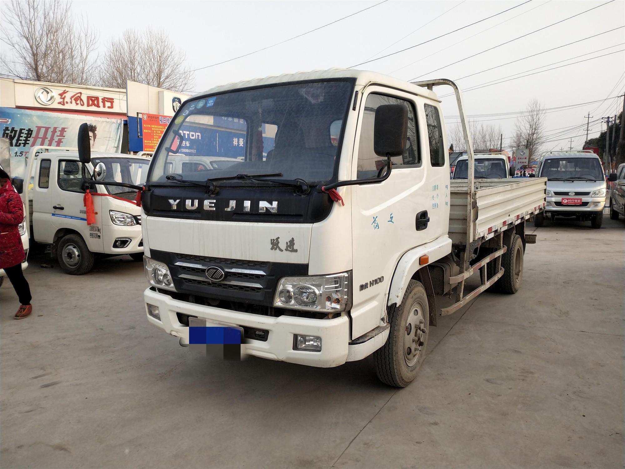 南京依維柯躍進 載貨車  98匹 2013年03月 4x2