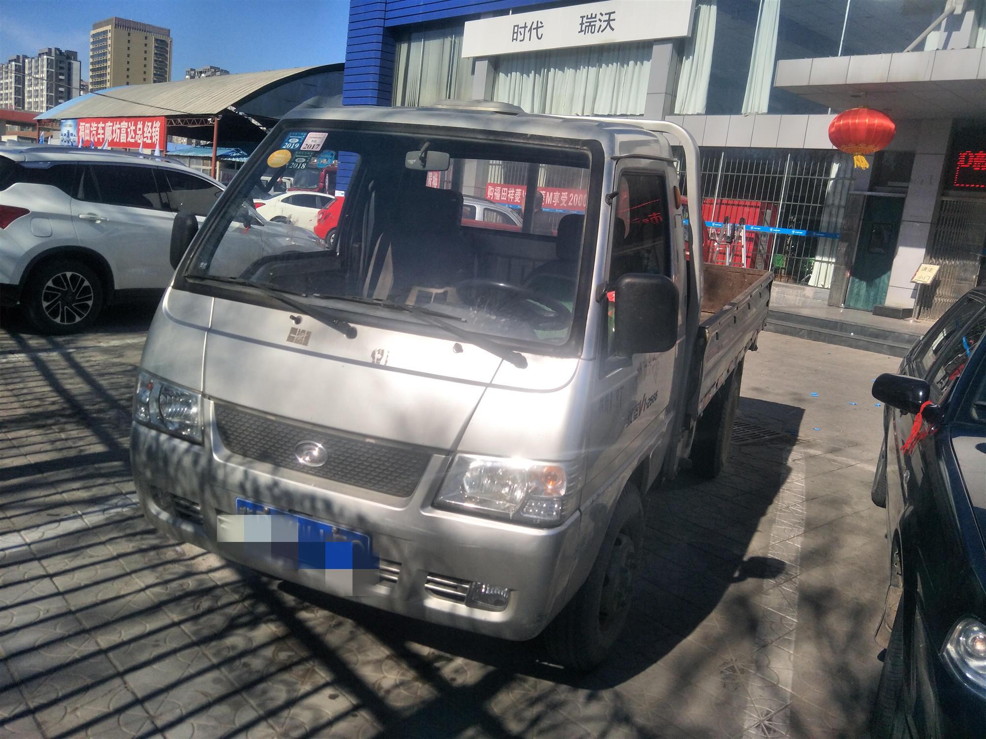 北汽福田其他車系 載貨車  100匹 2012年05月 4x2