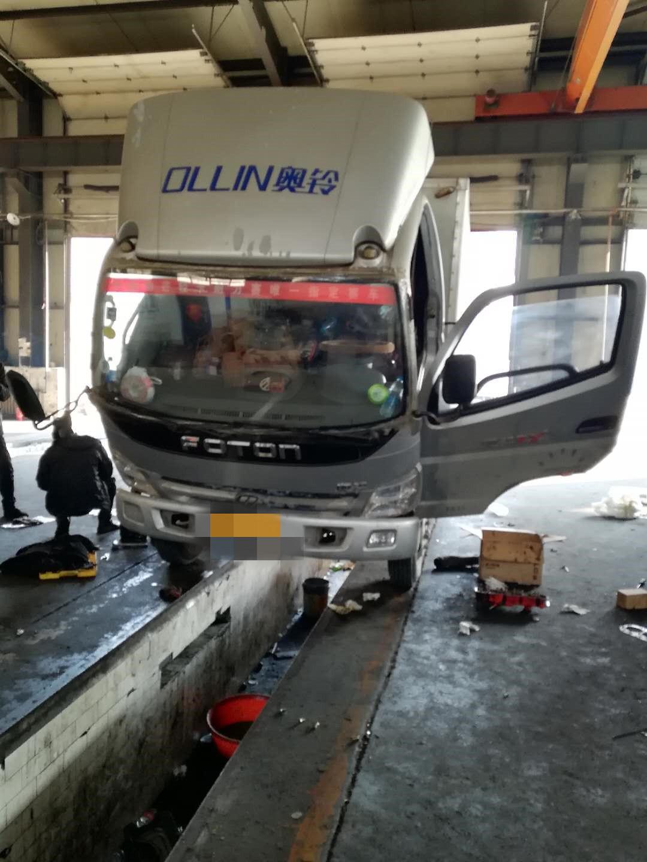 福田欧曼其他车系 载货车  85匹 2014年11月 4x2