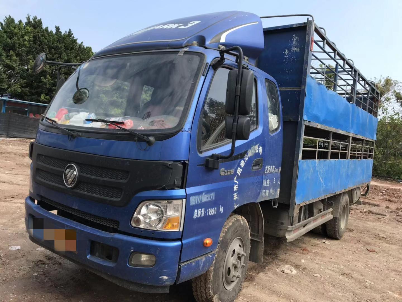 福田欧马可欧马可S5 载货车  160匹 2016年03月 4x2