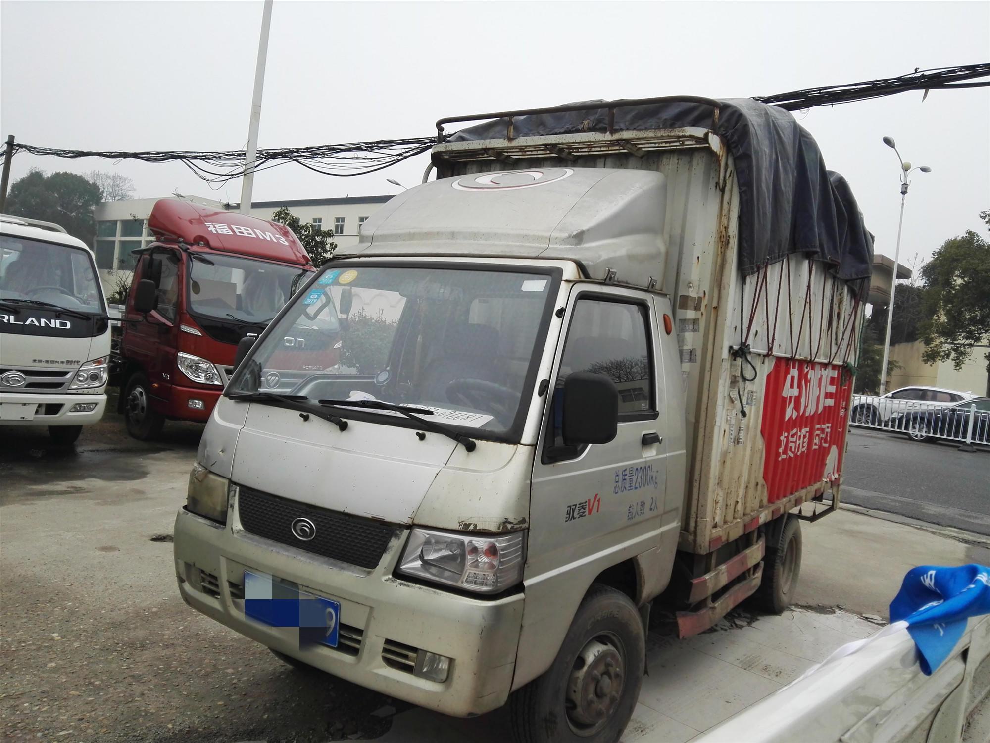 北汽福田其他車系 載貨車  60匹 2013年05月 4x2