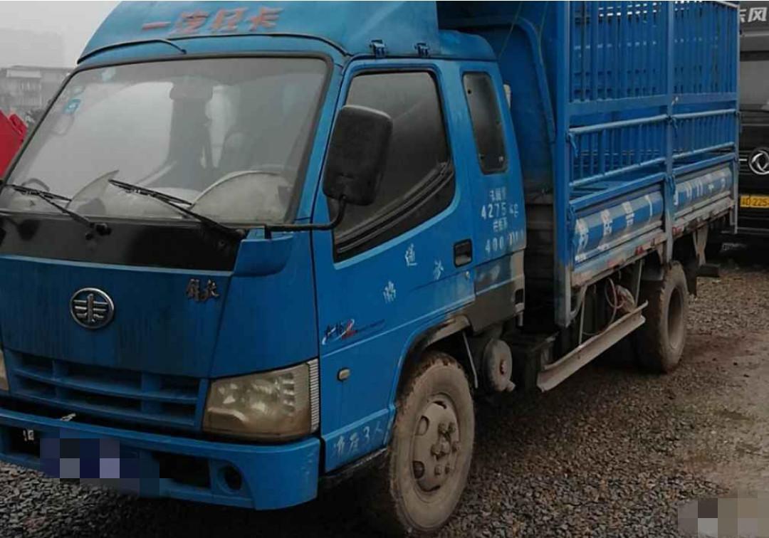 一汽解放轻卡J6F 载货车  106匹 2014年11月 4x2