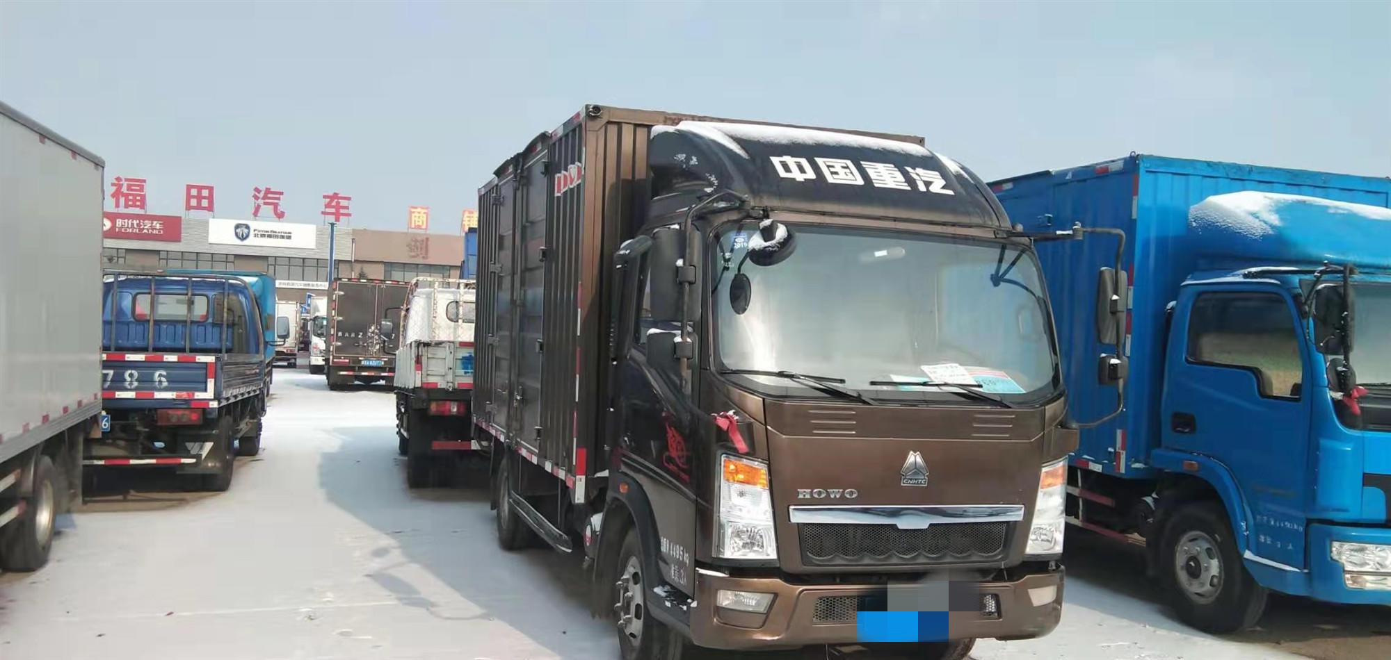 中國重汽HOWO 載貨車  108匹 2016年07月 4x2
