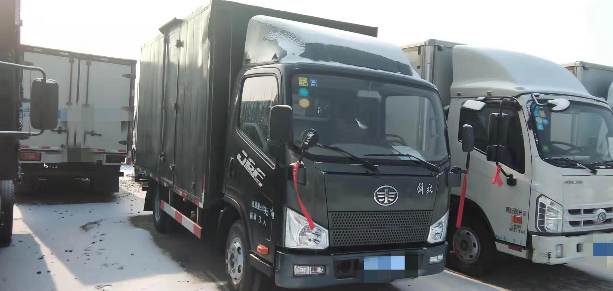 一汽解放其他車系 載貨車  120匹 2016年11月 4x2