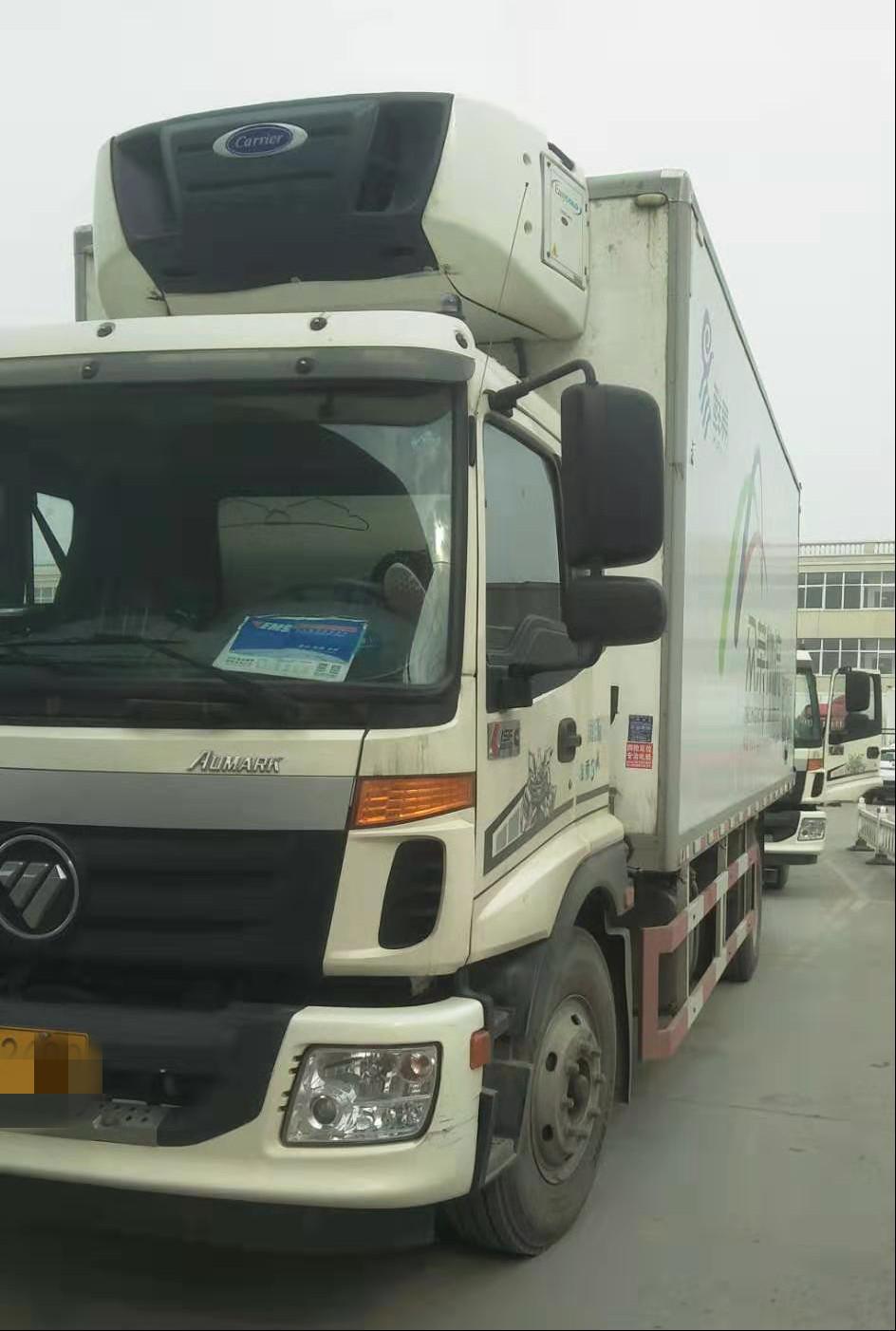 福田欧曼其他车系 载货车  168匹 2017年04月 4x2