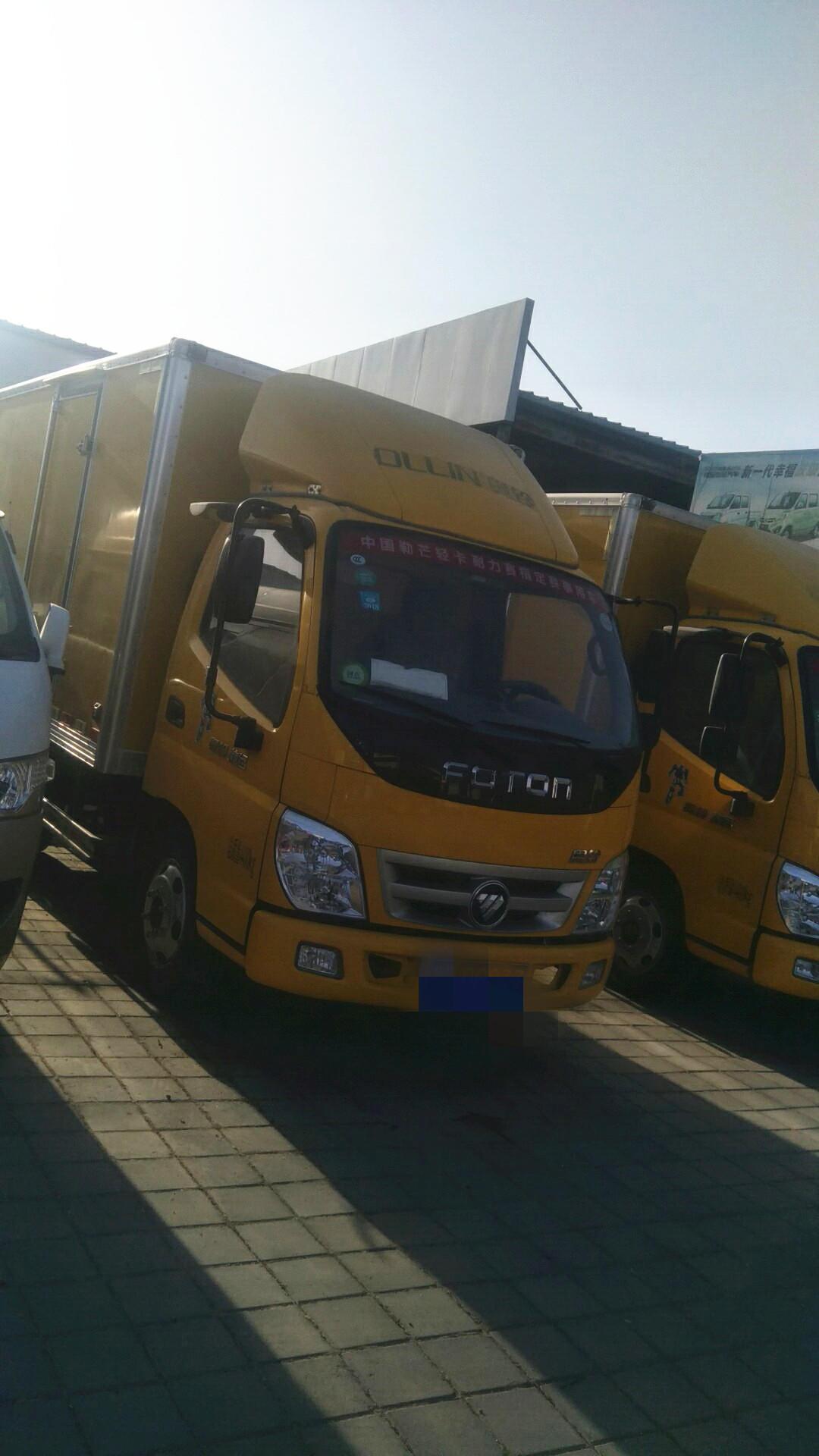 福田奧鈴奧鈴捷運 載貨車  80匹 2017年12月 4x2