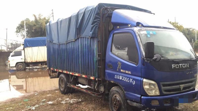 福田奧鈴奧鈴捷運 載貨車  130匹 2012年04月 4x2