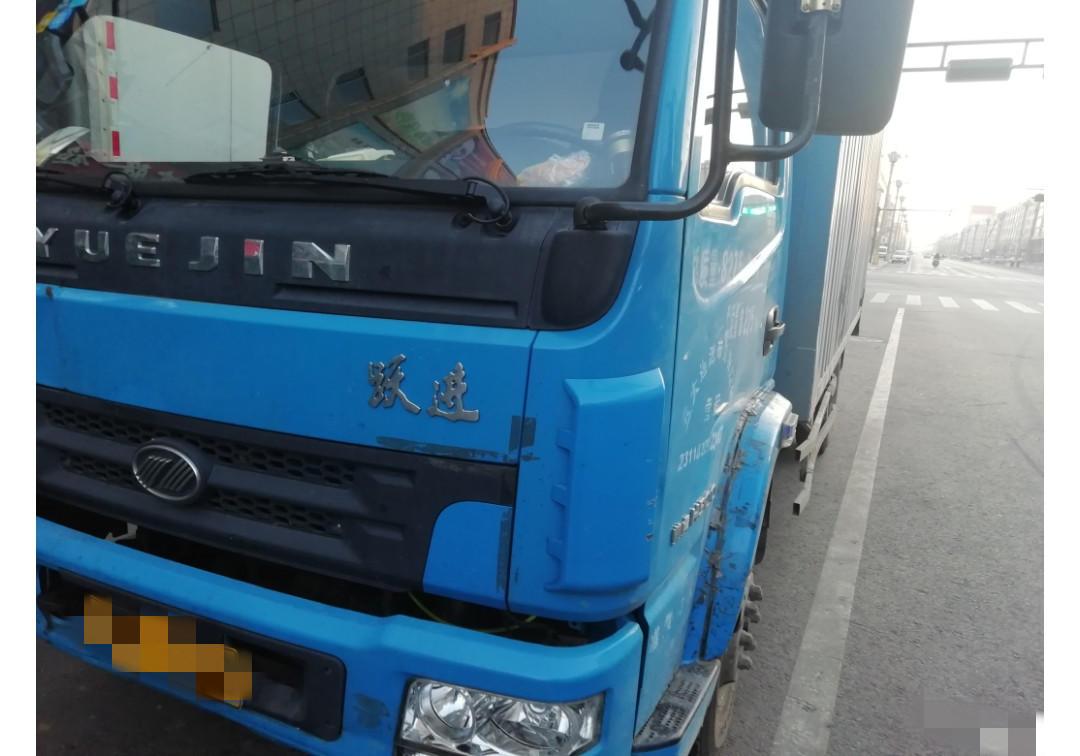 上汽跃进开拓X300 载货车  115匹 2013年05月 4x2