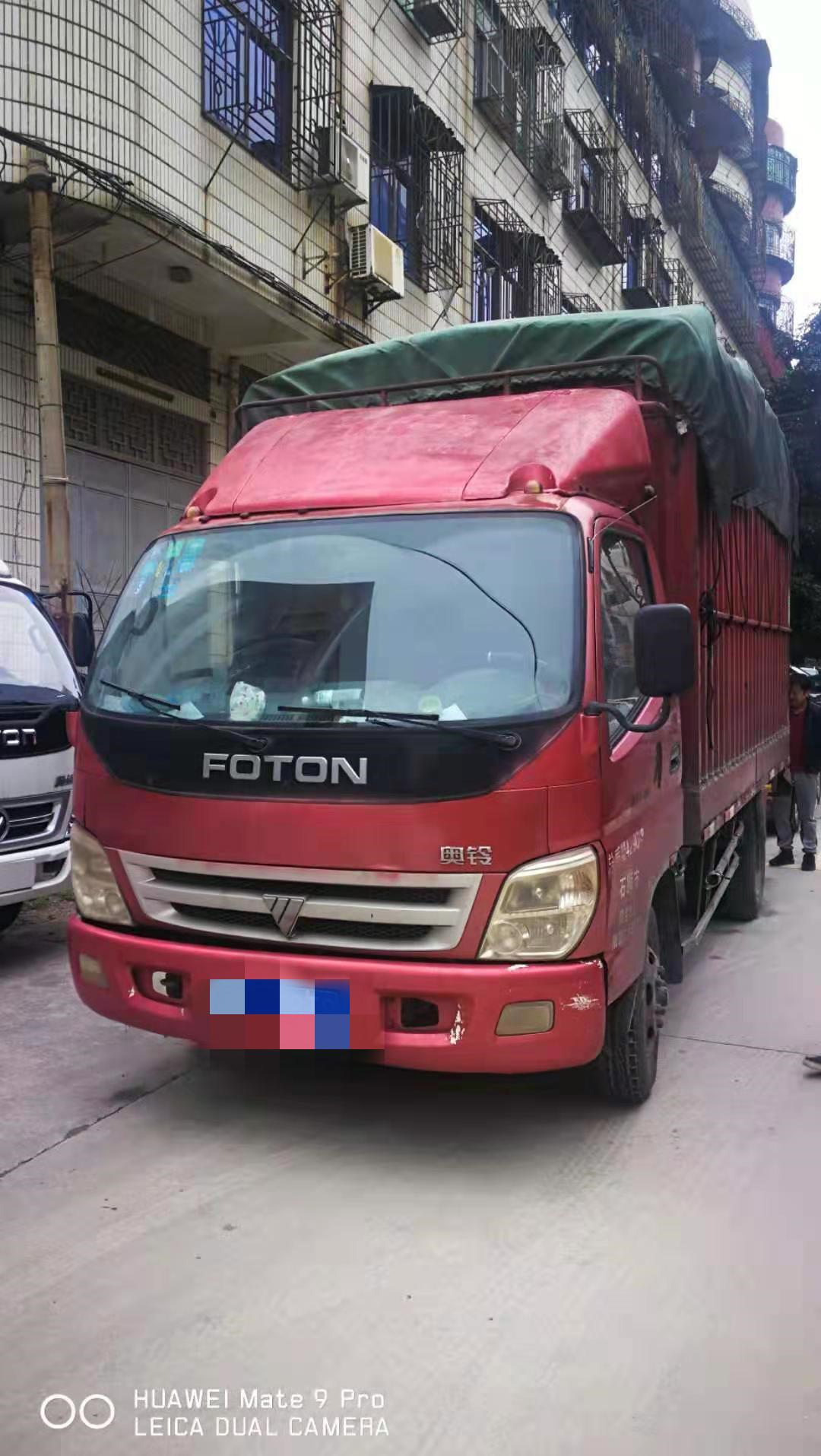 福田奧鈴奧鈴捷運 載貨車  90匹 2010年06月 4x2