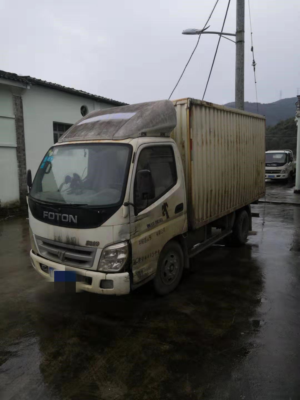 福田奧鈴奧鈴捷運 載貨車  120匹 2012年04月 4x2