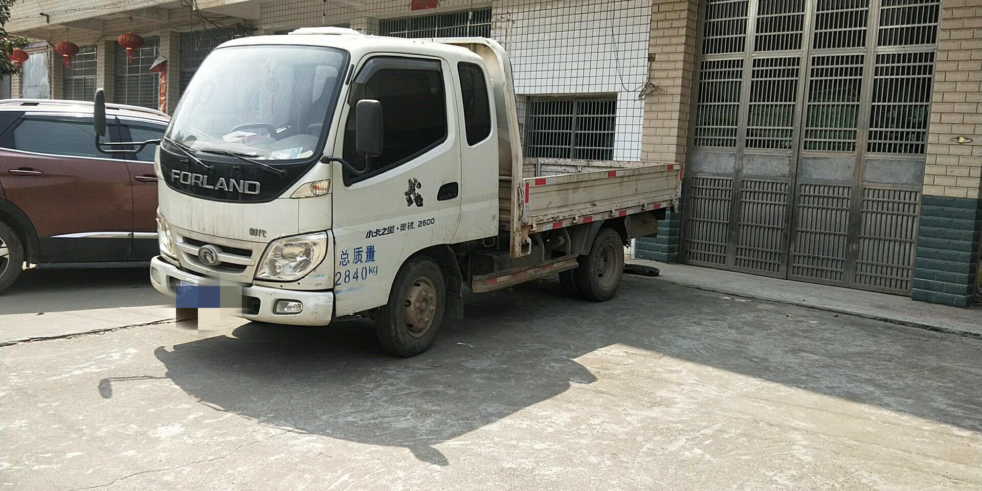 北汽福田其他車系 載貨車  88匹 2009年11月 4x2