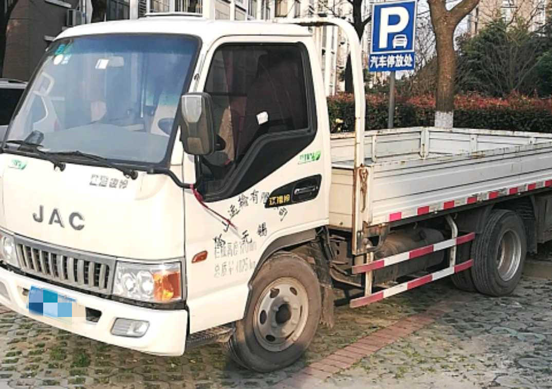 江淮格爾發K5L中卡 標載型 載貨車  158匹 2015年03月 4x2