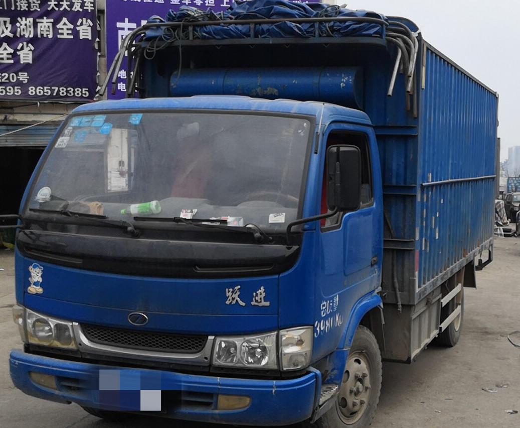 南京依維柯躍進 載貨車  130匹 2013年05月 4x2