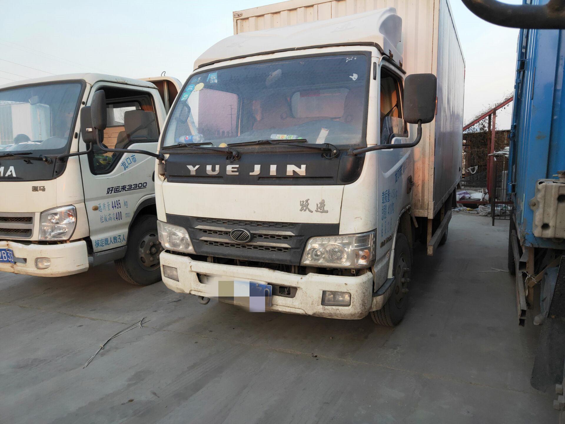 上汽跃进开拓H500 载货车  103匹 2013年04月 4x2