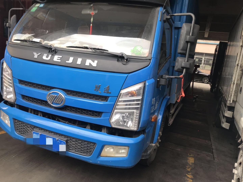 南京依維柯躍進 載貨車  120匹 2017年12月 4x2