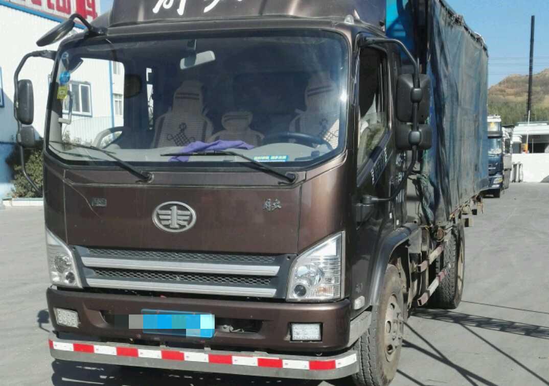 一汽解放J6L中卡 超值版 載貨車  160匹 2017年02月 4x2