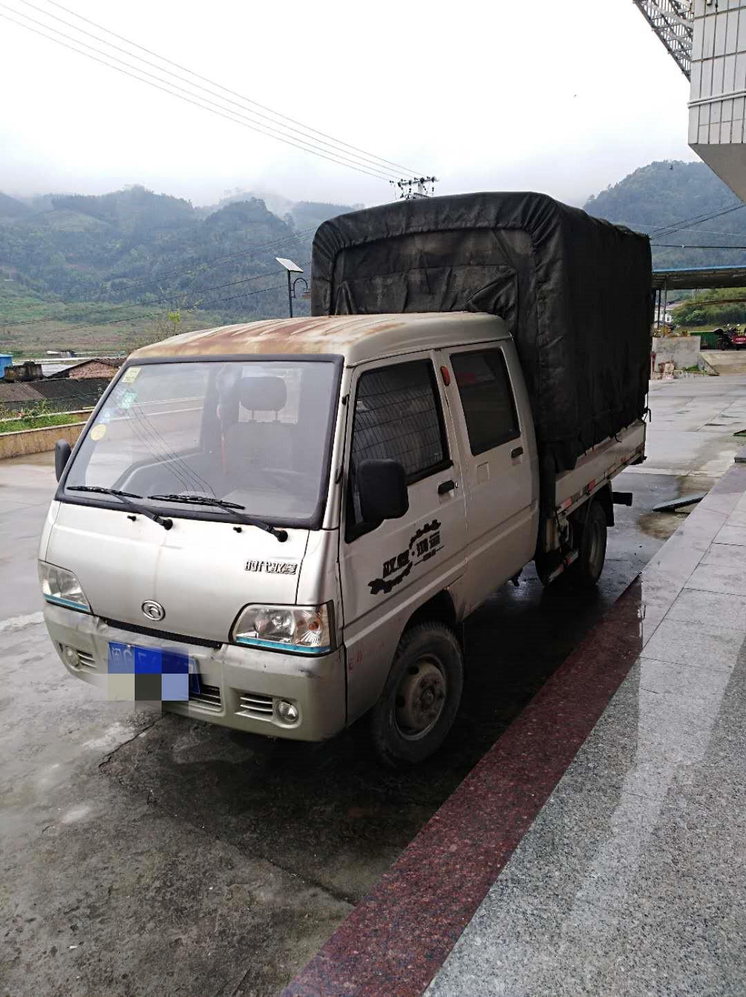北汽福田其他车系 载货车  57匹 2010年09月 4x2