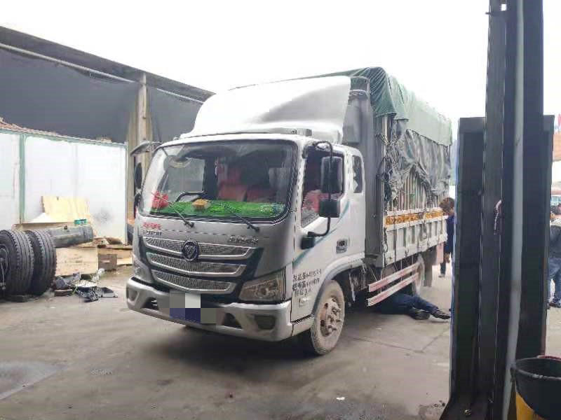 福田欧马可欧马可S3 载货车  141匹 2018年08月 4x2