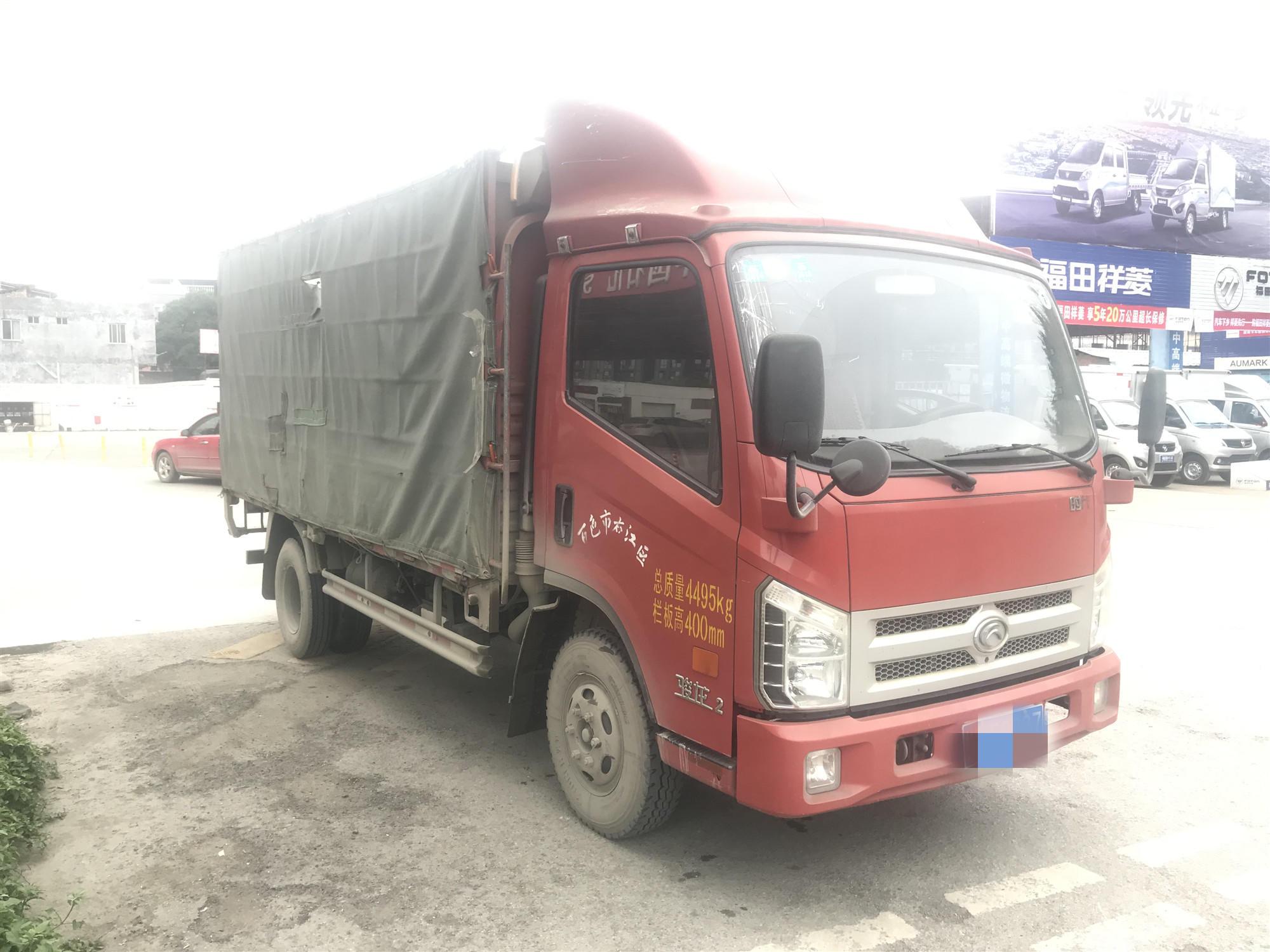 福田欧曼其他车系 载货车  120匹 2013年07月 6x4