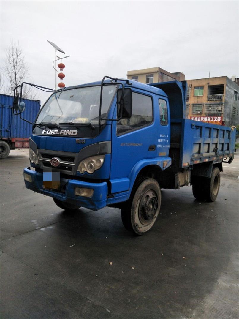 福田瑞沃瑞沃Q5 自卸車  120匹 2011年06月 4x2