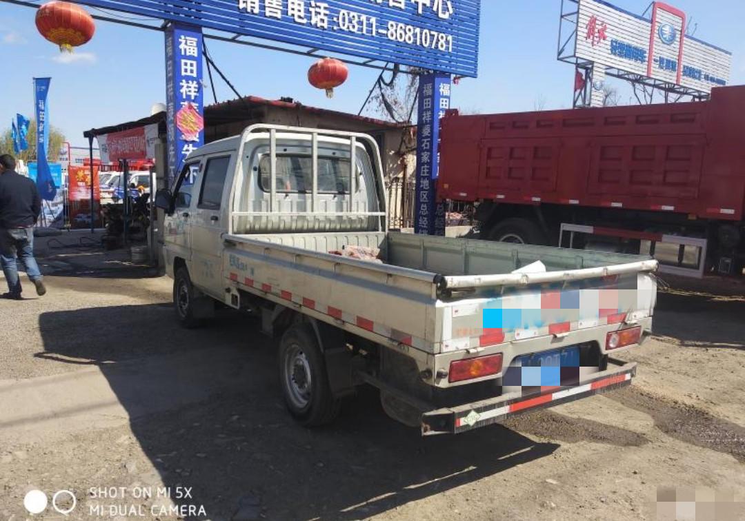 北汽福田瑞沃 载货车  110匹 2016年03月 4x2