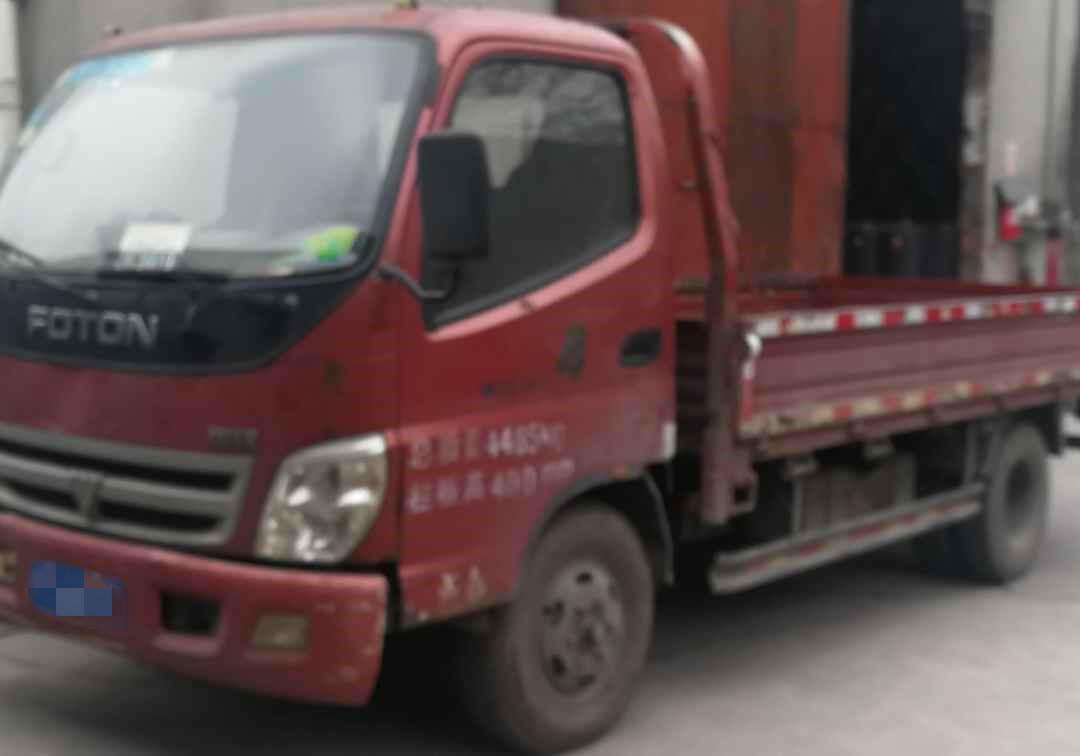 北汽福田其他车系 载货车  132匹 2009年05月 4x2