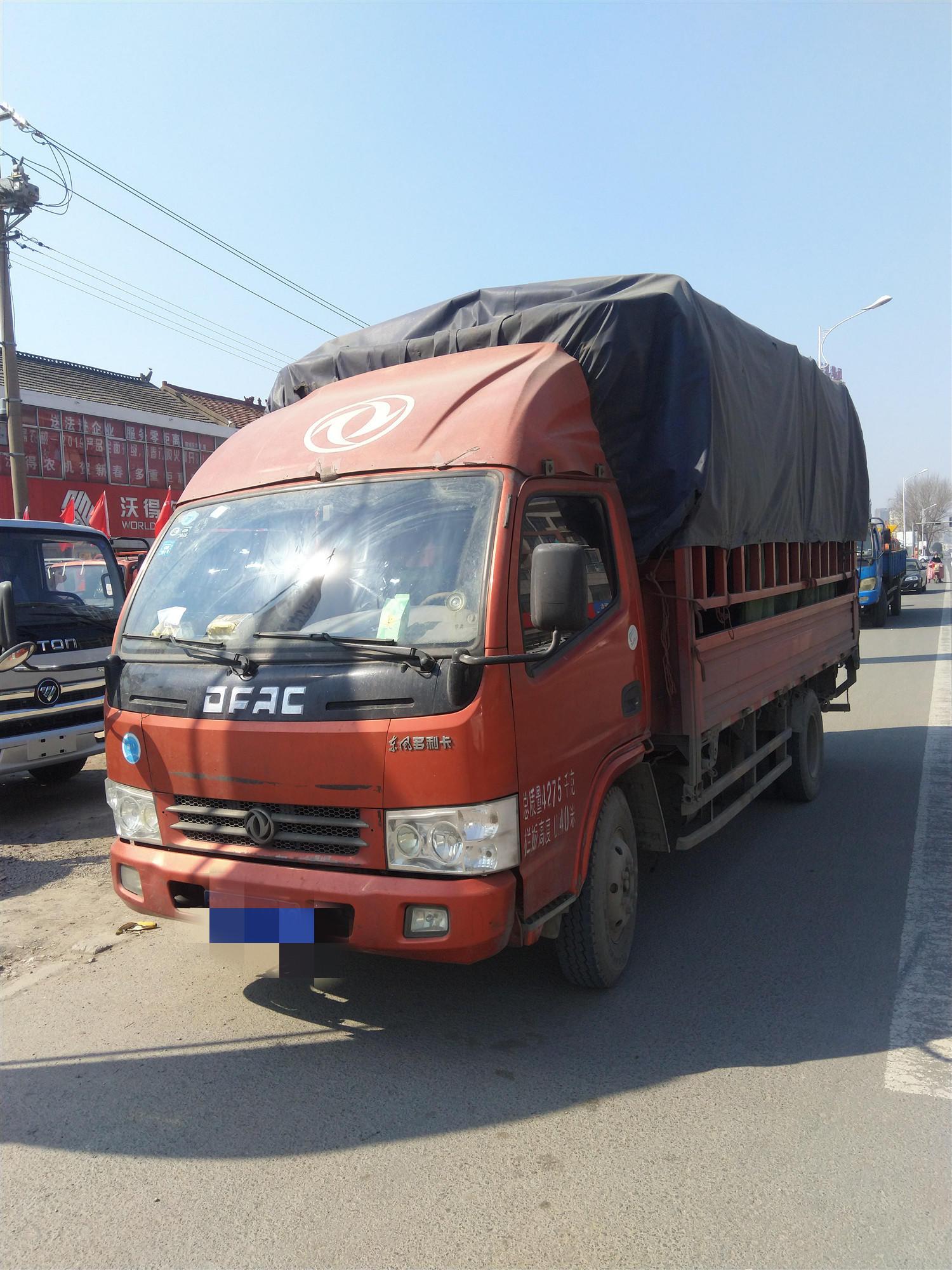 東風多利卡多利卡D5 載貨車  115匹 2015年04月 4x2