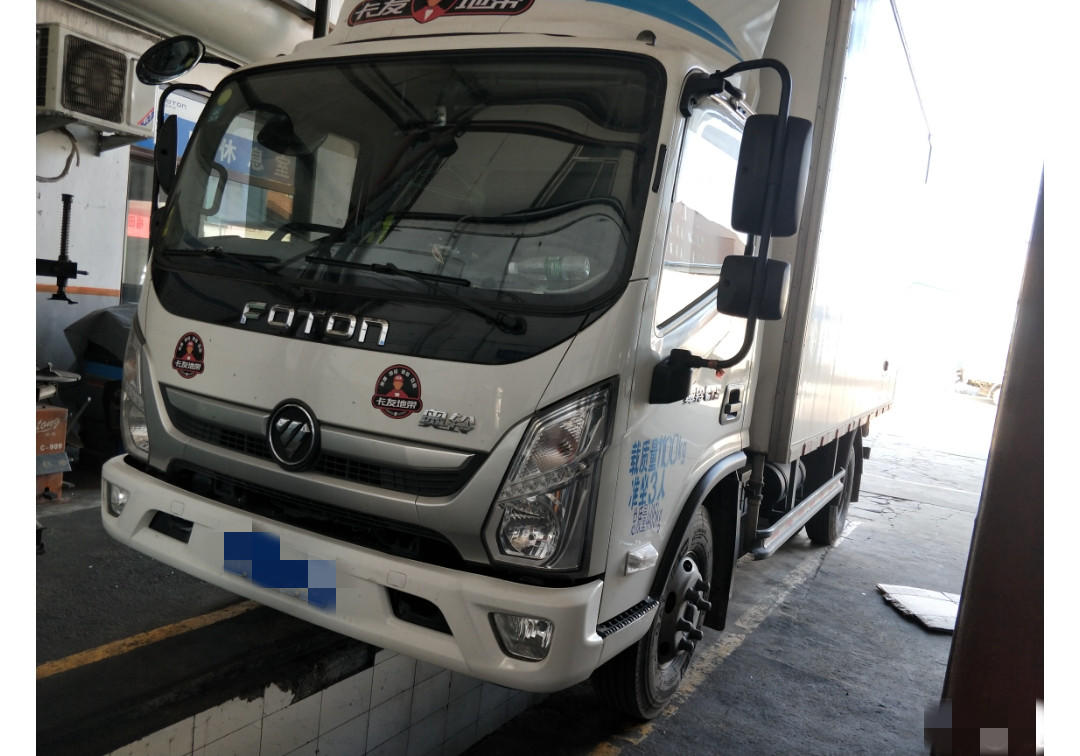 福田奥铃奥铃CTS 载货车  154匹 2017年09月 4x2
