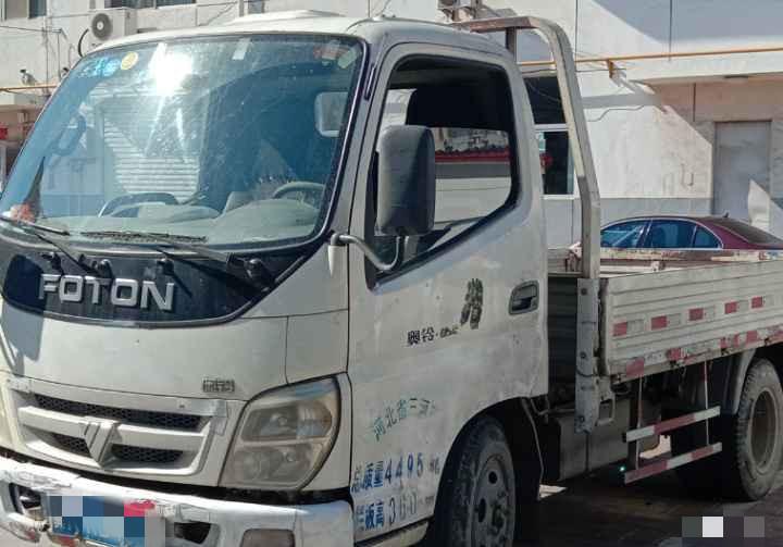 福田奥铃奥铃捷运 载货车  60匹 2009年12月 4x2