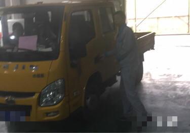 上汽跃进开拓H500 载货车  110匹 2018年02月 4x2