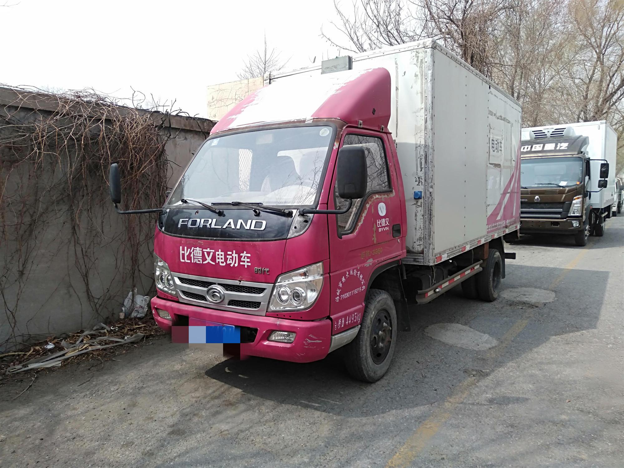 北汽福田其他车系 载货车  117匹 2011年09月 4x2