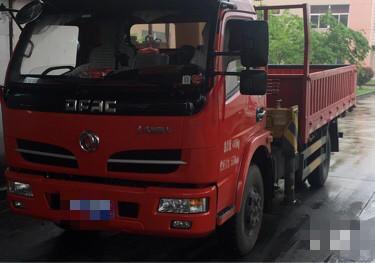 东风福瑞卡(全新)福瑞卡F4 载货车  110匹 2019年04月 4x2