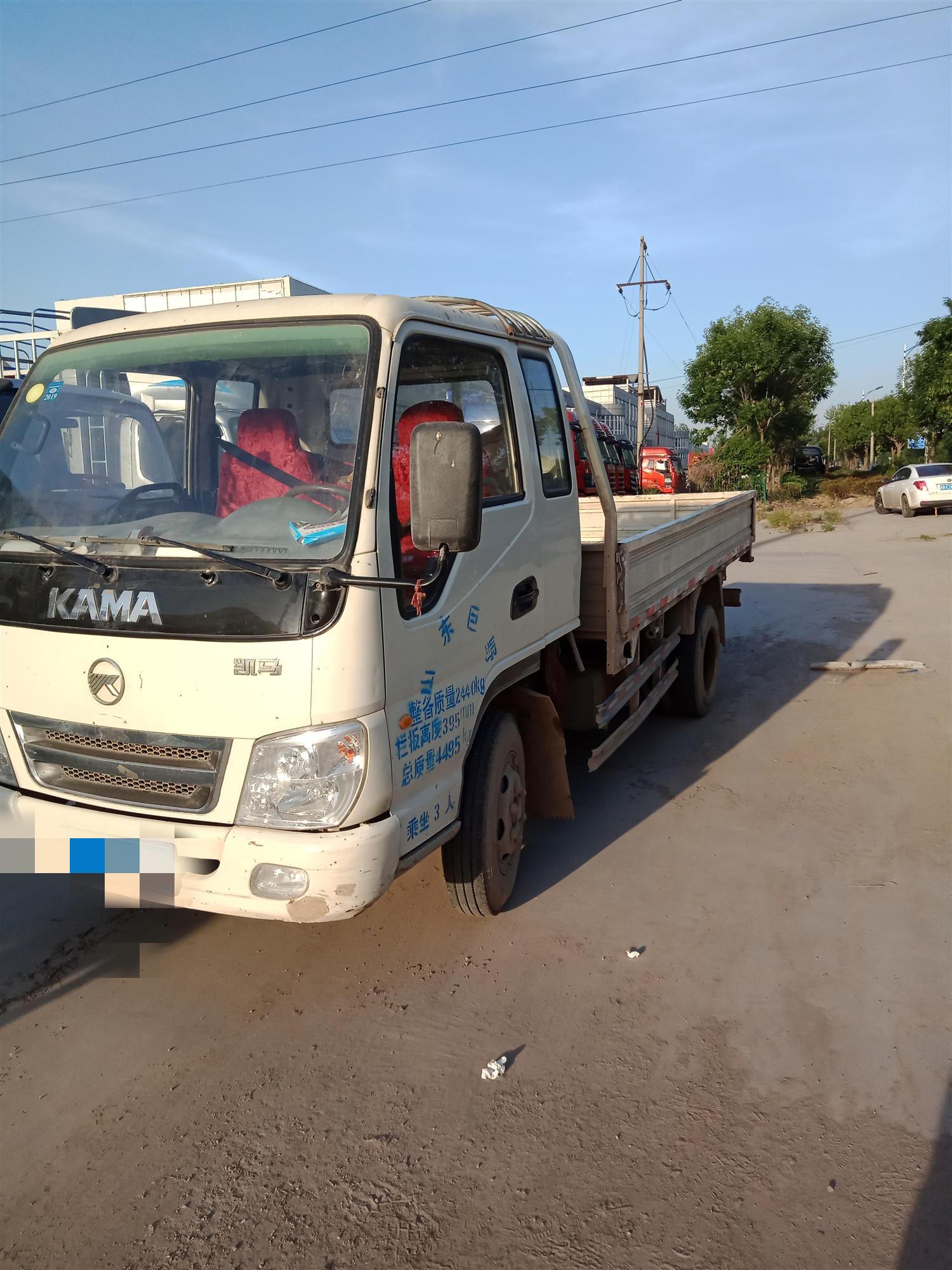 凯马凯捷 载货车  91匹 2013年09月 4x2