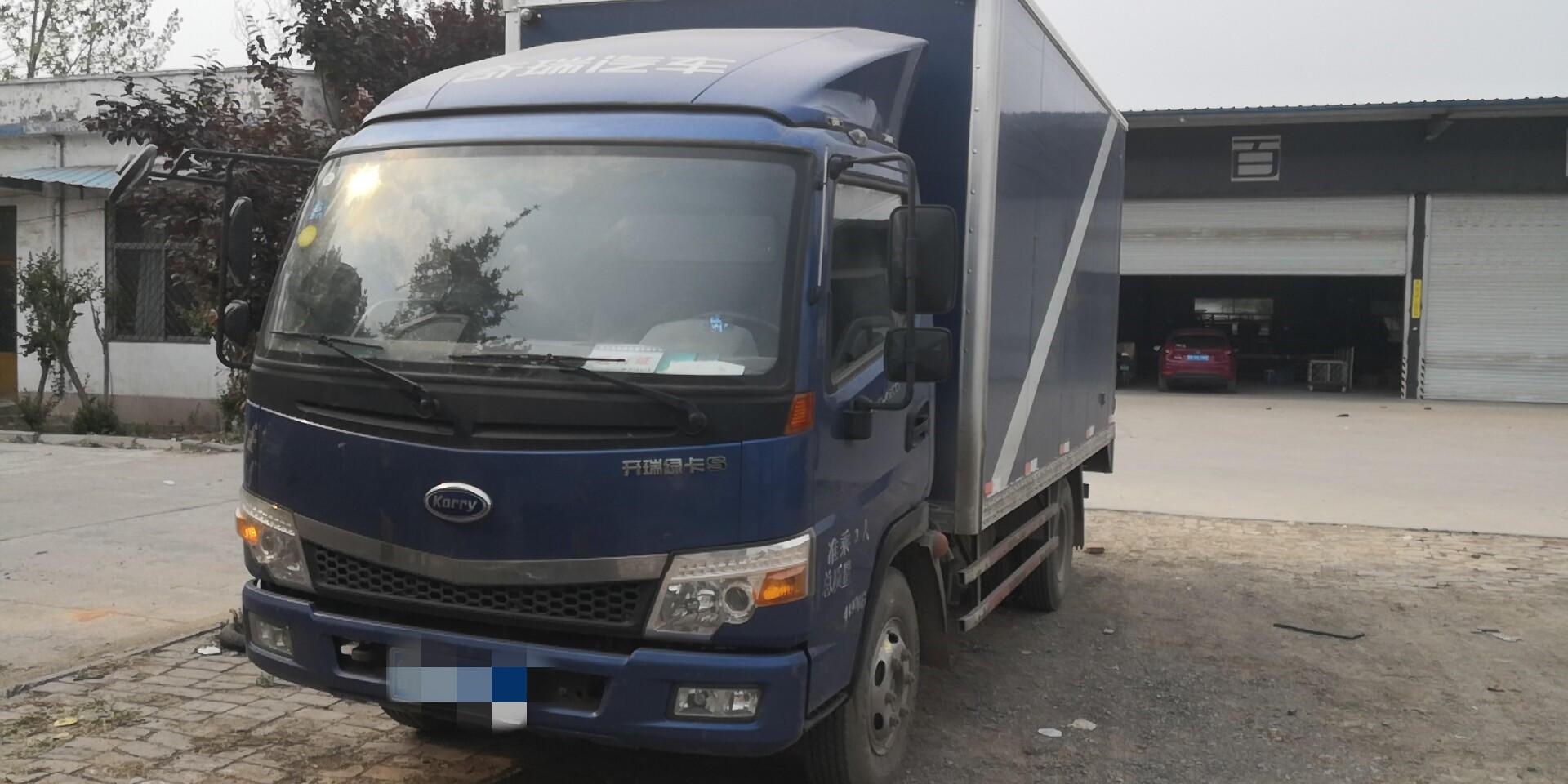 开瑞绿卡绿卡重载版 载货车  130匹 2017年09月 4x2