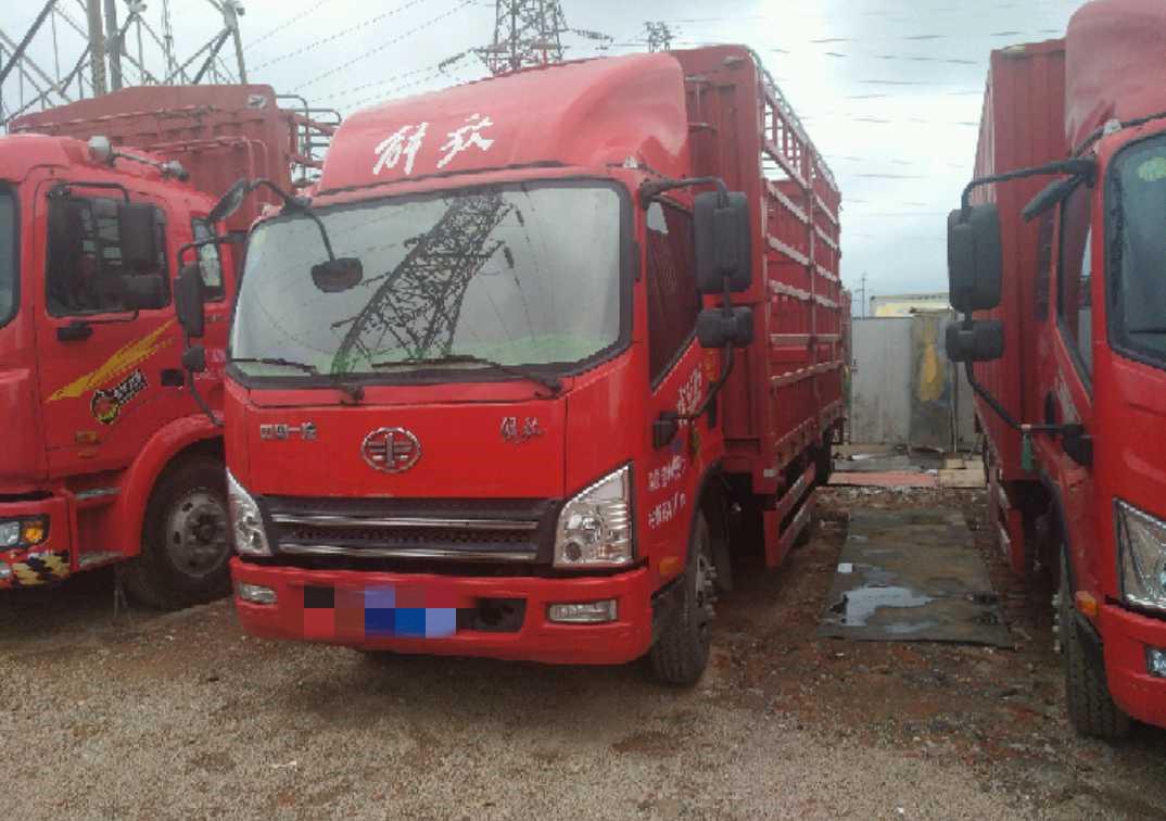 青岛解放其他车系 载货车  154匹 2018年06月 4x2