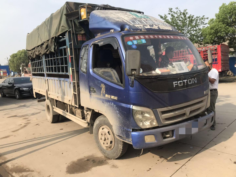 福田欧曼其他车系 载货车  140匹 2012年06月 4x2