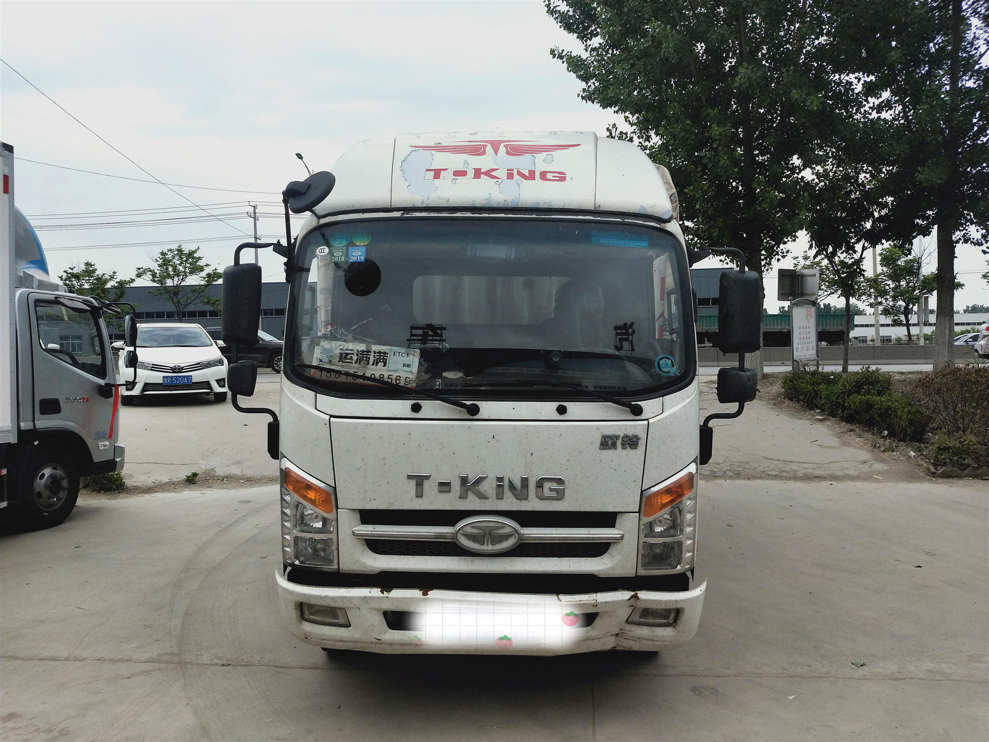 凯马凯捷 载货车  130匹 2017年08月 4x2